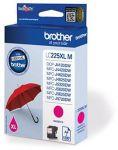 Brother LC-225XLM inktcartridge magenta / 1200 afdrukken