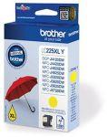 Brother LC-225XLY inktcartridge geel / 1200 afdrukken