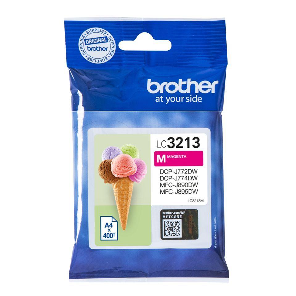 brother lc3213m inktcartridge magenta 400 afdrukken
