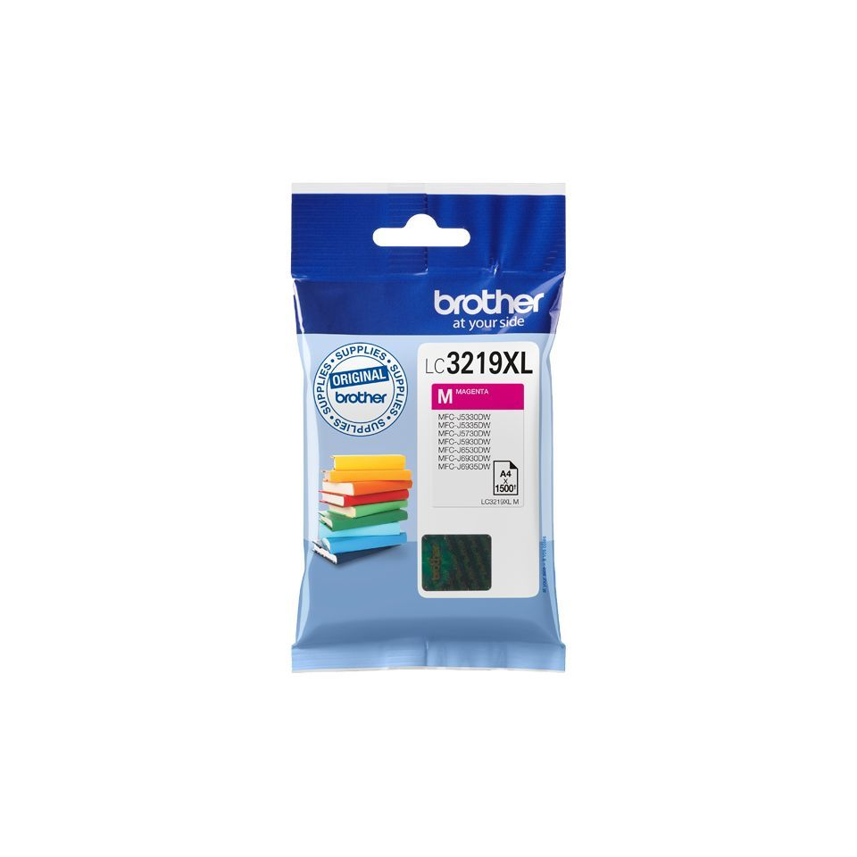 brother lc3219xlm inktcartridge magenta 1500 afdrukken