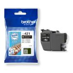 Brother LC-421BK inktcartridge zwart / 200 afdrukken