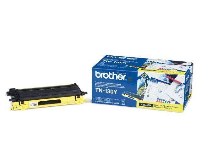brother tn130y toner geel 1500 afdrukken