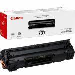 Canon 737 toner zwart / 2400 afdrukken