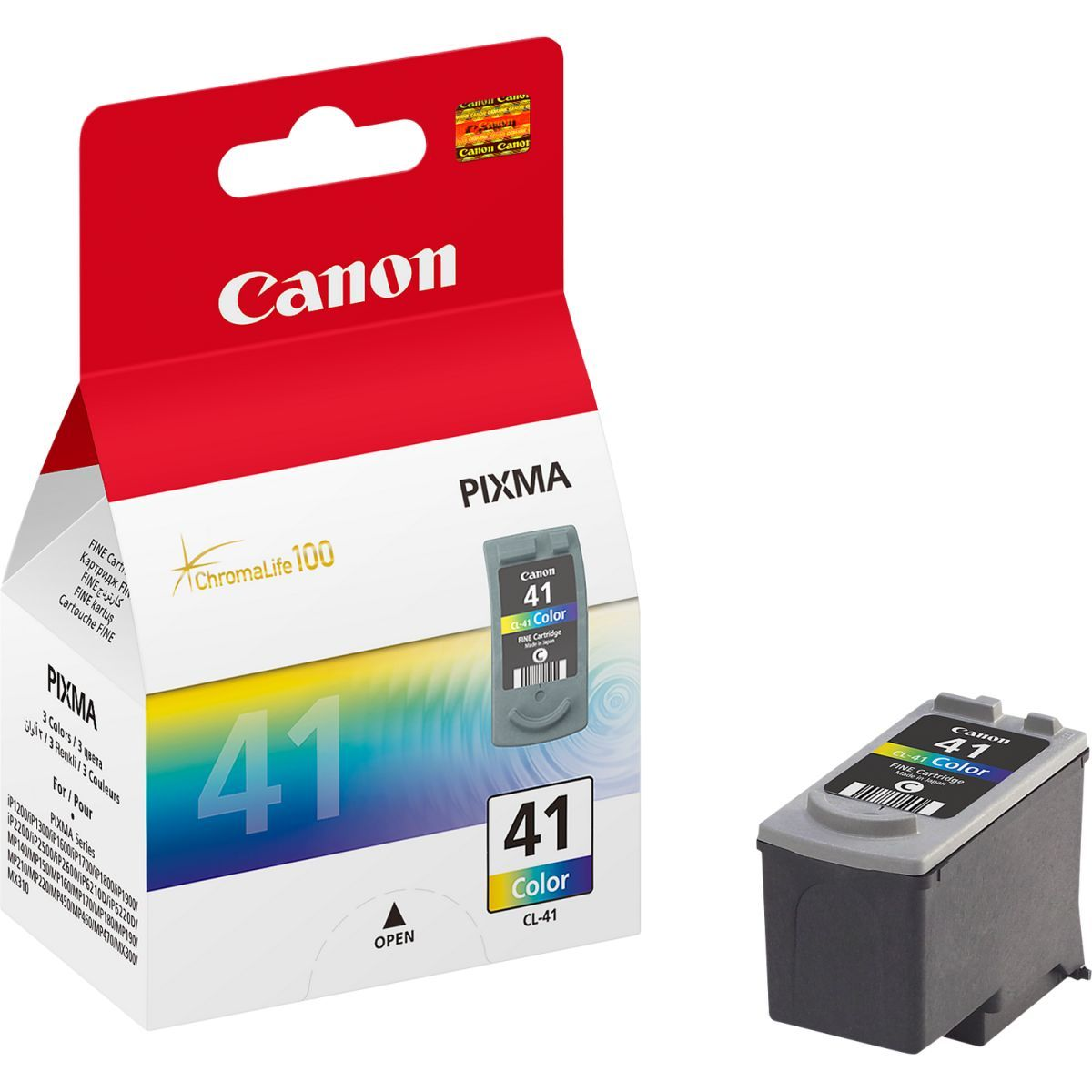 canon cl41 inktcartridge kleur 4ml per kleur
