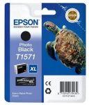 Epson T1571 inktcartridge foto zwart