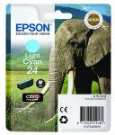 Epson 24 inktcartridge licht cyaan / 5,1 ml