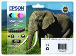 Epson 24 multipack, set/6 inktcartridges