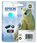 Epson 26 inktcartridge cyaan / 4,5ml
