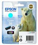 Epson 26 inktcartridge cyaan / 4,5ml
