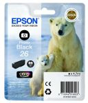 Epson 26 inktcartridge foto zwart / 4,7ml
