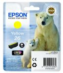 Epson 26 inktcartridge geel / 4,5ml