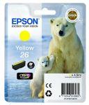 Epson 26 inktcartridge geel / 4,5ml