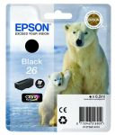 Epson 26 inktcartridge zwart / 6,2ml