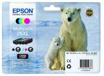 Epson 26XL multipack, set/4 inktcartridges