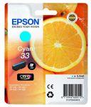Epson 33 inktcartridge cyaan / 4,5ml