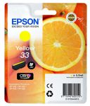 Epson 33 inktcartridge geel / 4,5ml