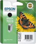 Epson inktcartridge T015 zwart / 15ml