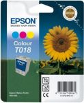 Epson inktcartridge T018 kleur / 37ml