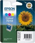 Epson inktcartridge T018 kleur / 37ml