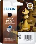 Epson T0511 inktcartridge zwart / 24ml