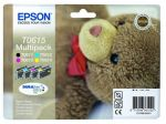 Epson T0615 multipack, set/4 inktcartridges