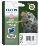 Epson T0796 inktcartridge licht magenta / 11ml