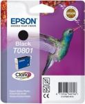 Epson T0801 inktcartridge zwart / 7,4ml