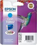 Epson T0802 inktcartridge cyaan / 7,4ml