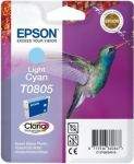 Epson T0805 inktcartridge licht cyaan / 7,4ml