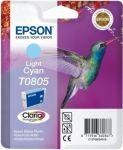 Epson T0805 inktcartridge licht cyaan / 7,4ml