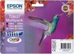 Epson T0807 multipack, set/6 inktcartridges