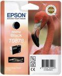 Epson T0878 inktcartridge mat zwart / 11,4ml