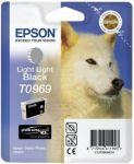 Epson T0969 inktcartridge licht licht zwart / 11,4ml