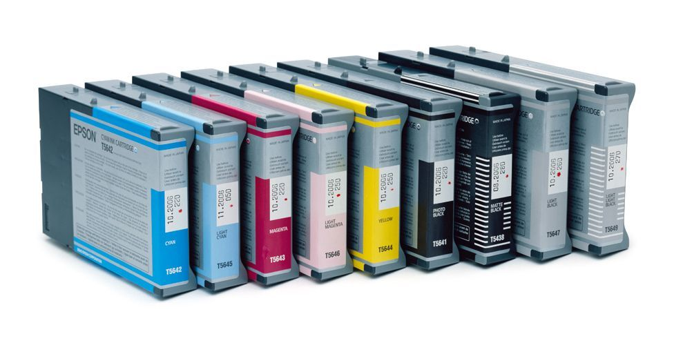 epson t543800 inktcartridge mat zwart 110ml