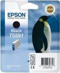 Epson inktcartridge T5591 zwart / 13ml