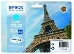 Epson T7022 XL inktcartridge cyaan / 2000 afdrukken