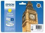 Epson T7034 L inktcartridge geel / ~ 800 afdrukken