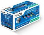 Epson S050268 toner economy pack 4 kleuren