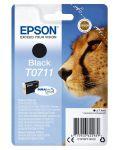 Epson T0711 inktcartridge zwart / 7,4ml