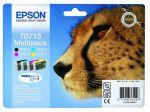 Epson T0715 multipack, set/4 inktcartridges