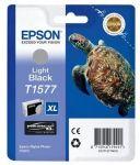 Epson T1577 inktcartridge licht zwart