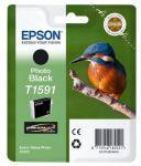 Epson T1591 inktcartridge foto zwart