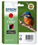 Epson T1597 inktcartridge rood