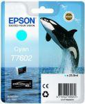 Epson T7602 inktcartridge cyan / 25,9ml