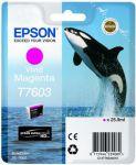 Epson T7603 inktcartridge vivid magenta / 25,9ml