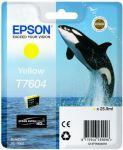 Epson T7604 inktcartridge yellow / 25,9ml