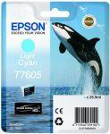 Epson T7605 inktcartridge light cyan / 25,9ml