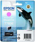 Epson T7606 inktcartridge vivd light magenta / 25,9ml