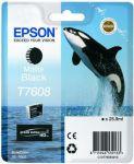 Epson T7608 inktcartridge matte black / 25,9ml