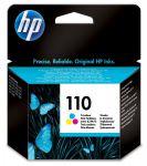 HP 110 drie-kleuren inktcartridge / 55 foto's 10x15